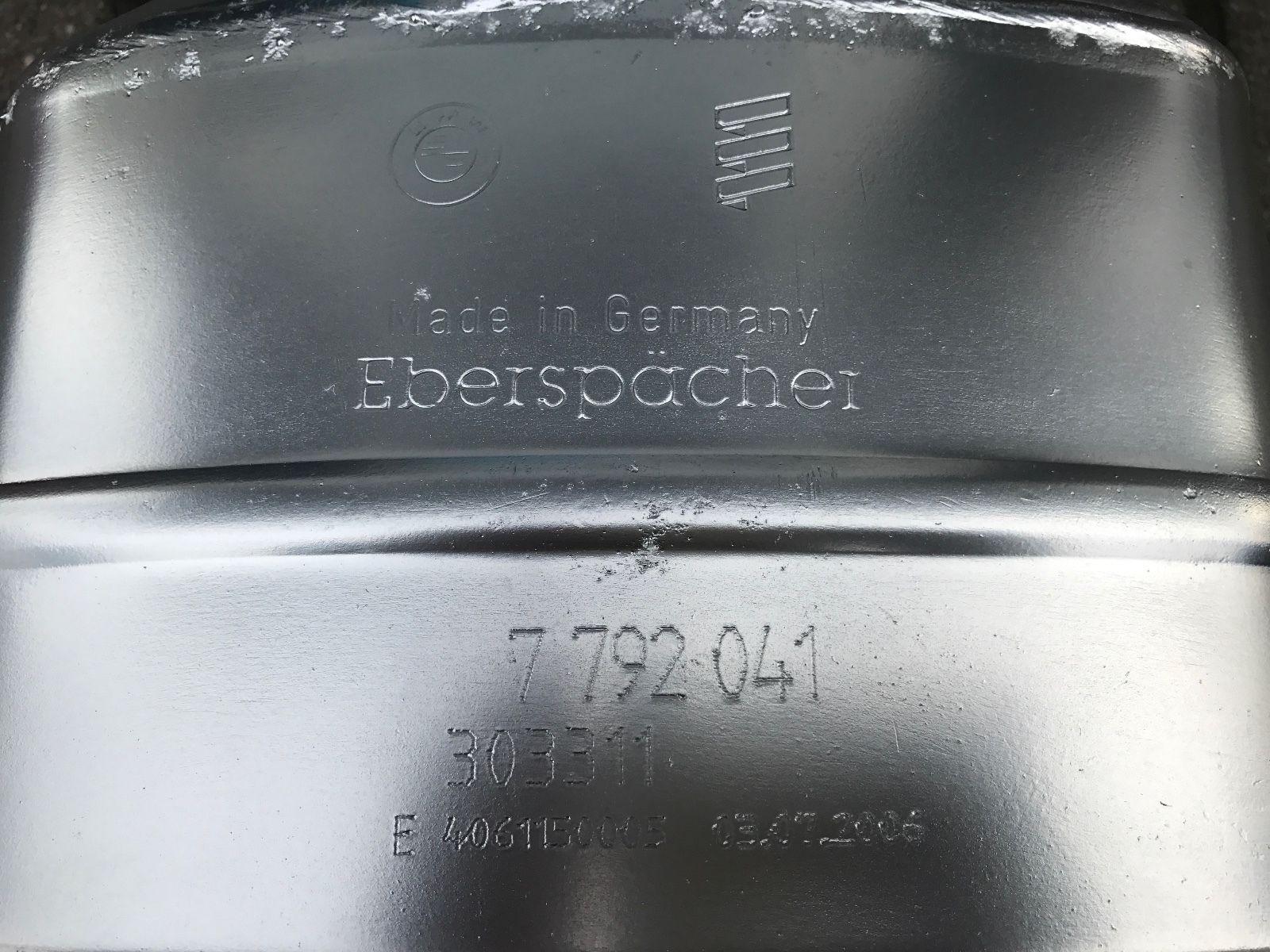Original DPF BMW 3.0d Dieselpartikelfilter  BMW 530d E65 E66 160 KW 218 PS